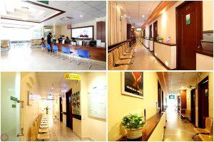 Cơ sở hạ tầng phòng khám viêm phụ khoa