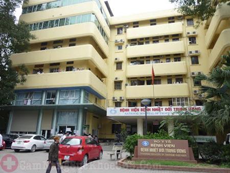 khám và điều trị viêm gan B ở đâu tốt - bệnh viện Nhiệt đới Trung ương
