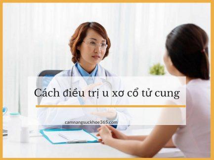 Cách điều trị u xơ cổ tử cung