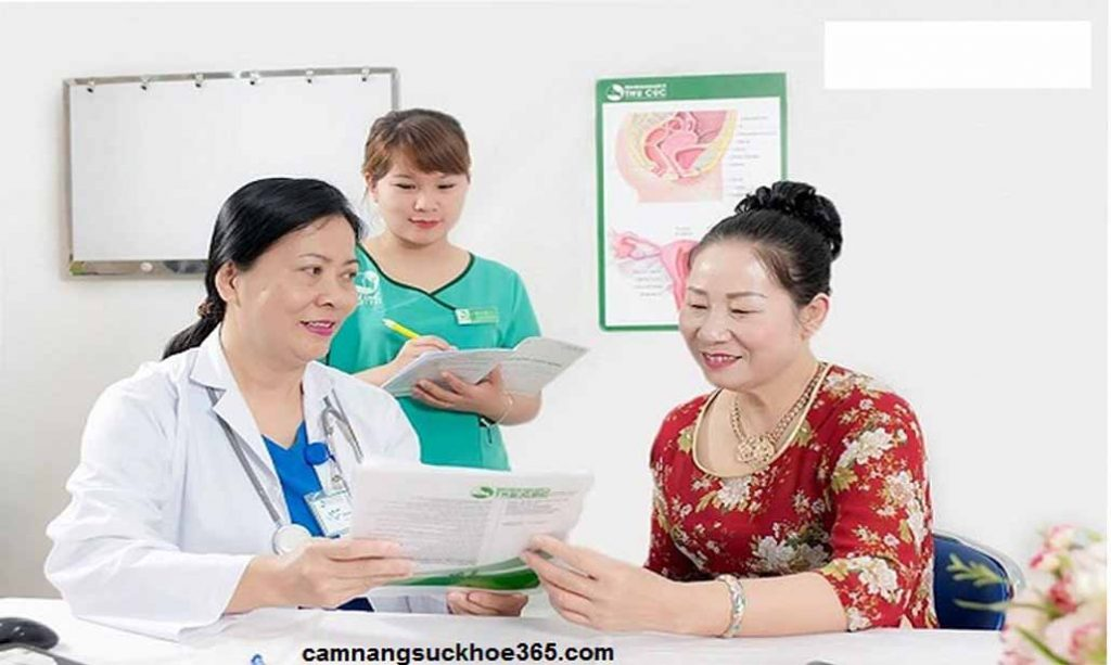 Quy trình khám u xơ cổ tử cung