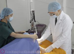 Chữa bệnh viêm phụ khoa bằng phương pháp ngoại khoa
