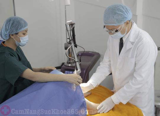 Phương pháp ngoại khoa chữa bệnh viêm phụ khoa