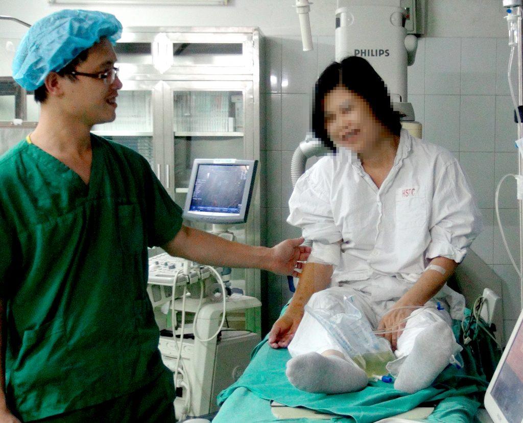 mổ u xơ tử cung ở bệnh viện 108