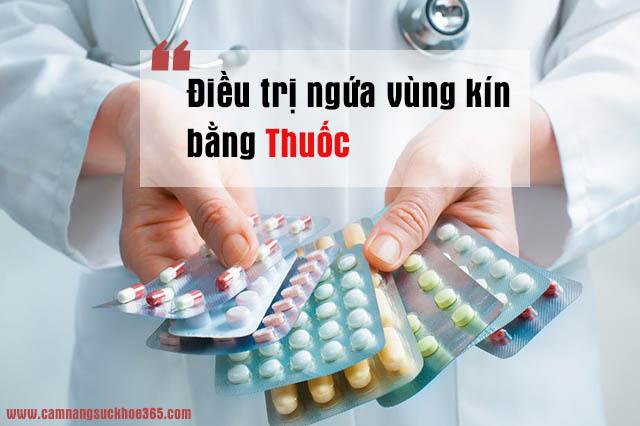 Thuốc trị ngứa vùng kín
