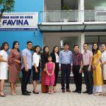 Đội ngũ nhân viên Favina Clinic & Beauty Spa