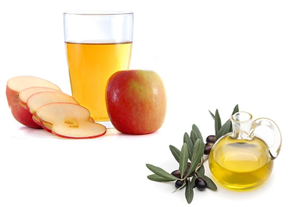 cách trị tàn nhang bằng giấm táo dầu ôliu