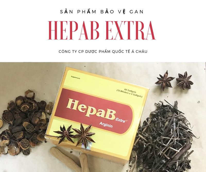HepaB extra là sản phẩm bảo vệ gan