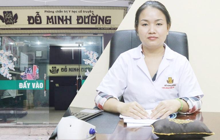 """Nữ lương y Đoan Trinh """"mát tay"""" trong điều trị phụ khoa tại Đỗ Minh Đường"""