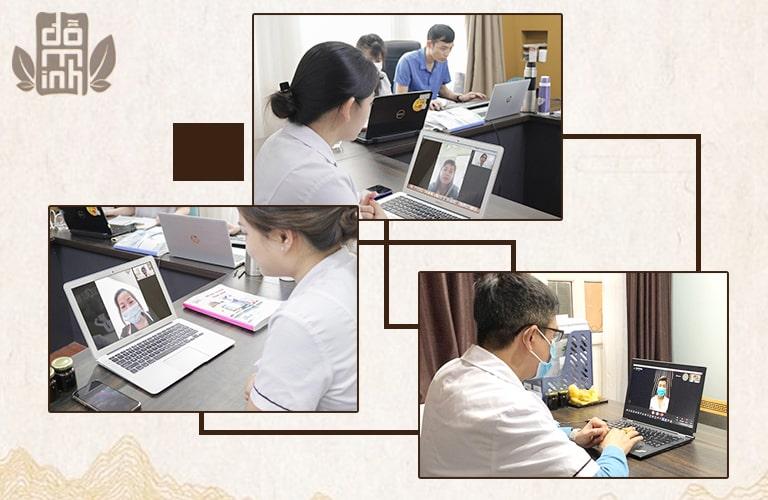 Dịch vụ khám chữa trực tuyến tại nhà thuốc Đỗ Minh Đường trong mùa dịch Covid