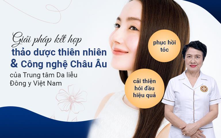 Giải pháp điều trị rụng tóc tại TTDLĐYVN