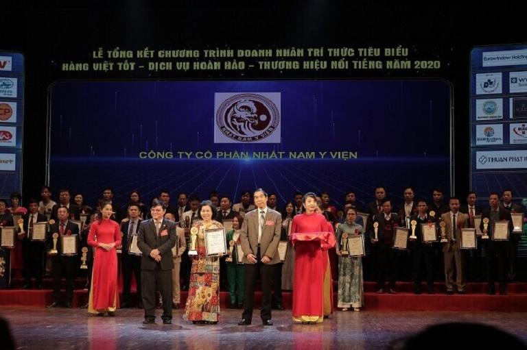 Nhất Nam Y Viện vinh dự nhận giải thường cao quý