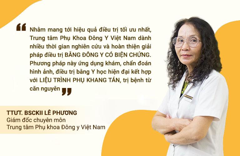 Bác sĩ Lê Phương chia sẻ về phương pháp Đông y có biện chứng