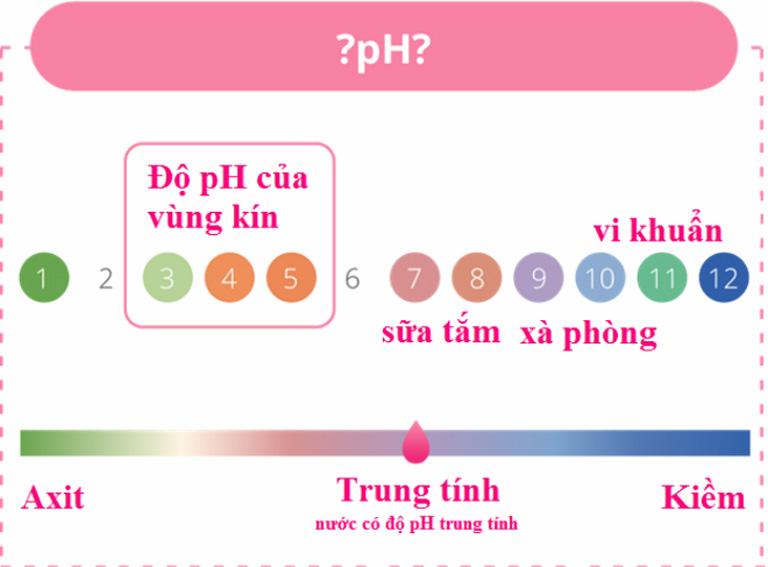 Độ pH lý tưởng tại âm đạo sẽ giúp chị em có một sức khỏe sinh lý khỏe mạnh