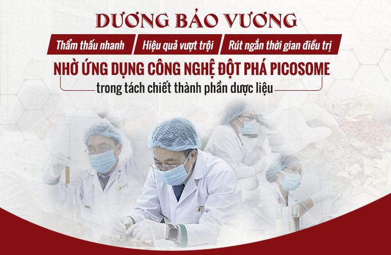 Bài thuốc Dương Bảo Vương ứng dụng công nghệ tách chiết dược liệu đột phá