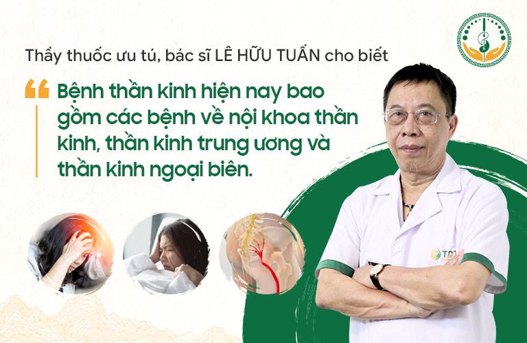 Bác sĩ Tuấn chia sẻ