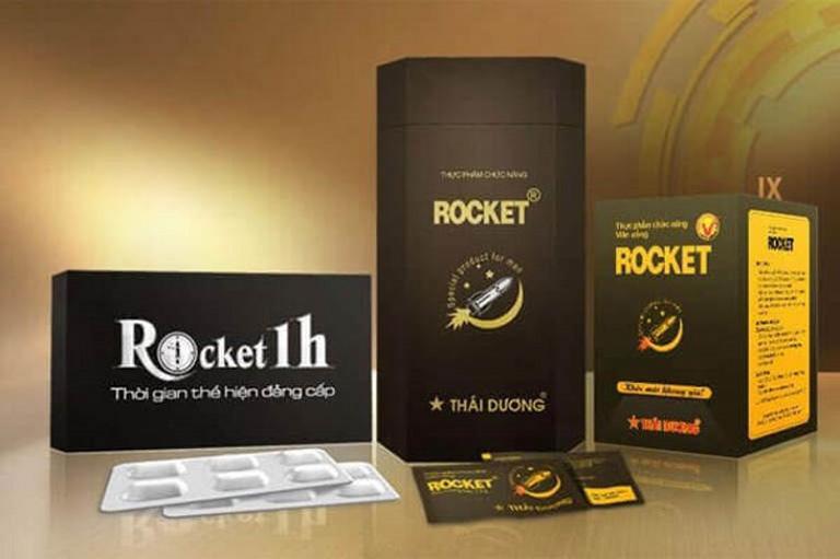 Viên uống Rocket 1H - Sản phẩm nổi tiếng trong chuyện phòng the